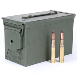 Ammo, Un-linked M17 Tracer, 100 Round Box