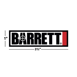 Barrett Sticker, Small