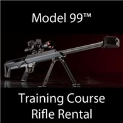TRAINING, RENTAL RIFLE, MODEL 99