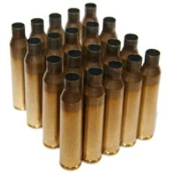 .338 LAPUA MAGNUM ONCE FIRED BRASS, NORMA HEADSTAMP, BAG OF 50