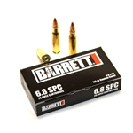 6.8 SPC BARRETT AMMUNITION, 115 GR CUSTOM COMP, 20 ROUND