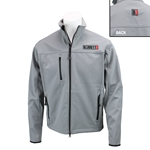 Logo Jacket, Grey Soft Shell