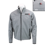 Logo Jacket, Grey Soft Shell, Ladies