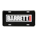 Barrett License Plate