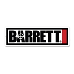 "Barrett Metal Sign 24""x7.5"""