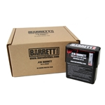 .416 AMMUNITION, BARRETT BRAND, TURNED BRASS 398 gr SOLID,  80 ROUND CASE