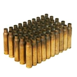 5.56 Once Fired Brass, Bag of 50