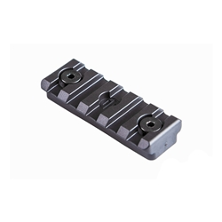 PWS KEY-MOD PIC RAIL SECTION, POLYMER, 5 SLOT