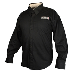 Long Sleeve Button Down Shirt Black