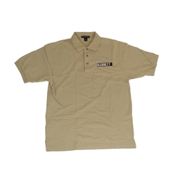 Khaki Barrett Polo Shirt