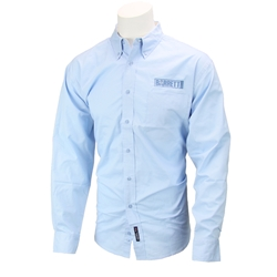 Long Sleeve Button Down Shirt Blue