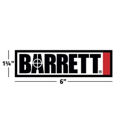 Barrett Sticker, Medium
