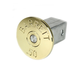 Trailer Hitch Cover, .50 Cal, Barrett Headstamp