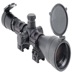 SYSTEM, SCOPE, LEUPOLD MK4, 30mm ULTRA HIGH RINGS